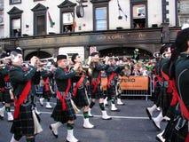 Desfile en Dublín Fotos de archivo libres de regalías