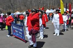 Desfile en el 37.o festival anual del narciso en Meriden, Connecticut Fotografía de archivo libre de regalías
