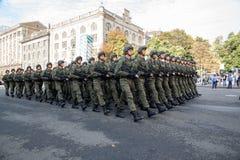 Desfile en Kiev Fotos de archivo libres de regalías