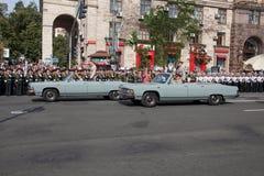 Desfile en Kiev Imagen de archivo libre de regalías