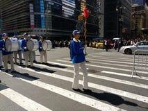 Desfile en New York City, NYC, NY, los E.E.U.U. Foto de archivo
