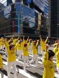 Desfile en New York City, NYC, NY, los E.E.U.U. Foto de archivo libre de regalías