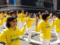 Desfile en New York City, NYC, NY, los E.E.U.U. Fotos de archivo libres de regalías
