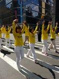 Desfile en New York City, NYC, NY, los E.E.U.U. Fotografía de archivo libre de regalías