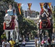 Desfile en Sicilia fotos de archivo