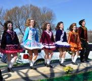 Desfile en Washington, C.C. del día del St. Patrick Imágenes de archivo libres de regalías