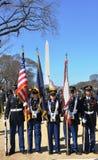 Desfile en Washington, C.C. del día del St. Patrick Fotos de archivo