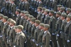 Desfile español del ejército fotos de archivo