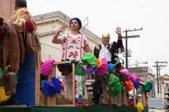 Desfile Fiestas Mexicanas Royaltyfria Bilder