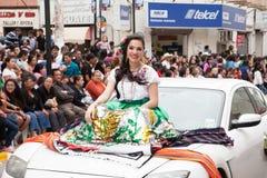 Desfile Fiestas Mexicanas Arkivfoto