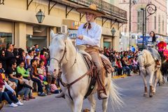 Desfile Fiestas Mexicanas Zdjęcie Stock