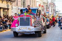 Desfile Fiestas Mexicanas Obrazy Royalty Free