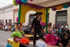 Desfile Fiestas Mexicanas Arkivbild
