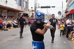 Desfile Fiestas Mexicanas Arkivfoton