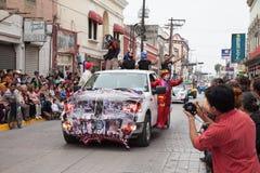 Desfile Fiestas Mexicanas Fotografering för Bildbyråer