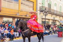 Desfile Fiestas Mexicanas. Matamoros, Tamaulipas, Mexico - March 02, 2013, Desfile Fiestas Mexicanas is part of the Charro Days Fiesta - Fiestas Mexicanas, A bi stock photos