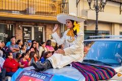 Desfile Fiestas Mexicanas. Matamoros, Tamaulipas, Mexico - March 02, 2013, Desfile Fiestas Mexicanas is part of the Charro Days Fiesta - Fiestas Mexicanas, A bi stock images