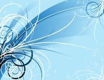 Desfile floral azul hermoso Fotografía de archivo libre de regalías