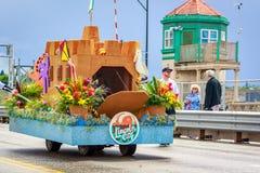 Desfile floral magnífico 2018 de Portland fotografía de archivo libre de regalías