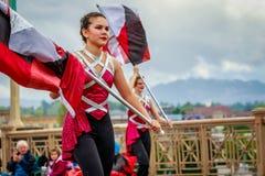 Desfile floral magnífico 2017 de Portland Fotos de archivo libres de regalías