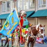 Desfile floral magnífico 2014 de Portland Imagenes de archivo