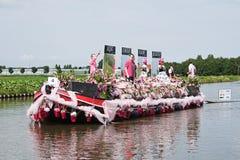 Desfile flotante 2010 de la flor de Westland Imagen de archivo