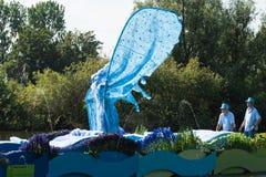 Desfile flotante 2011 de la flor de Westland Imagenes de archivo