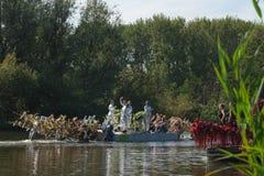Desfile flotante 2011 de la flor de Westland Fotos de archivo libres de regalías