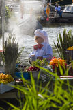 Desfile flotante 2011 de la flor de Westland Foto de archivo