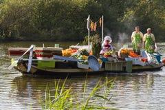 Desfile flotante 2011 de la flor de Westland Fotografía de archivo