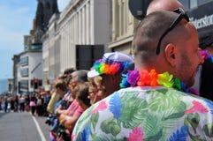 Desfile gay en Brighton, Reino Unido foto de archivo libre de regalías