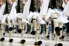 Desfile griego foto de archivo