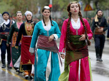 Desfile griego Imagen de archivo