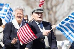 Desfile griego 2018 del Día de la Independencia fotos de archivo libres de regalías