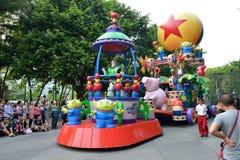 Desfile Hong Kong de Disney Imágenes de archivo libres de regalías