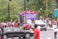 Desfile indio del oeste Hartford Connecticut Imagen de archivo libre de regalías