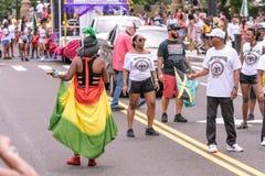Desfile indio del oeste Hartford Connecticut Fotografía de archivo