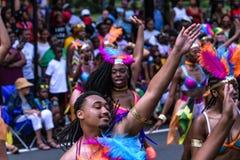 Desfile indio del oeste Hartford Connecticut Fotos de archivo