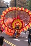 Desfile indio del oeste Hartford Connecticut Imagen de archivo