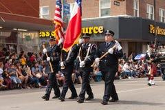 Desfile internacional magnífico imagen de archivo