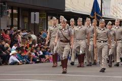 Desfile internacional magnífico imagen de archivo libre de regalías
