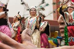 Desfile internacional magnífico imagenes de archivo