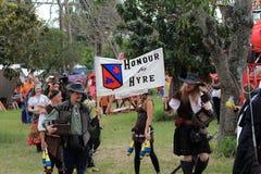 Desfile justo del renacimiento Imagenes de archivo