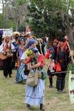 Desfile justo del renacimiento Fotos de archivo libres de regalías