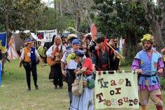 Desfile justo del renacimiento Imágenes de archivo libres de regalías