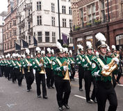 Desfile Londres del día de Año Nuevo. Imágenes de archivo libres de regalías