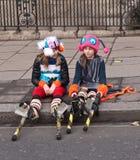 Desfile Londres del día de Año Nuevo. Fotografía de archivo