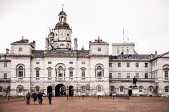 Desfile Londres Reino Unido de los guardias de caballo Foto de archivo libre de regalías