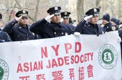 Desfile lunar del Año Nuevo Fotos de archivo libres de regalías