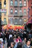 Desfile lunar del Año Nuevo de Chinatown Fotos de archivo libres de regalías